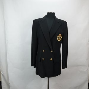 Vintage Ralph Lauren Double Breasted Blazer 10